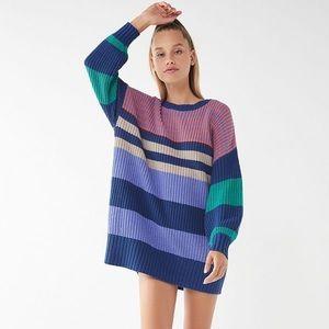 UO Striped Sweater Dress
